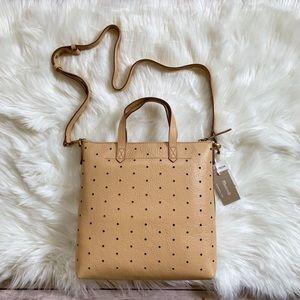 Madewell Perforated Mini Transport Leather Bag